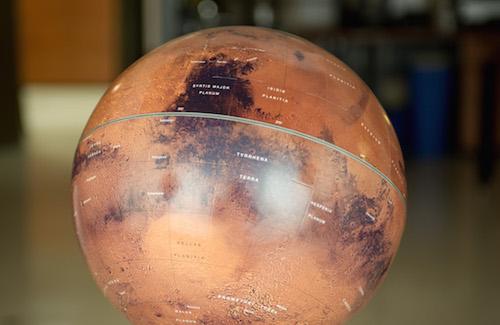 Image of a globe.